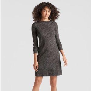 Eileen Fisher organic cotton wool bateau neck